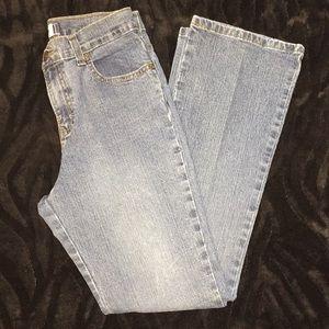 Jordache Lo-rise Stretch Sz 16 reg blue jeans